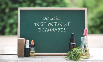 Dolori Post Workout e Cannabis